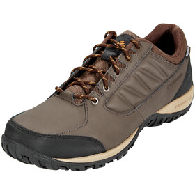 Columbia Ruckel Ridge WP Shoes Men, cordovan/canyon gold
